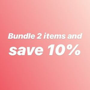 Other - Bundle 2 of my closet items and save 10%